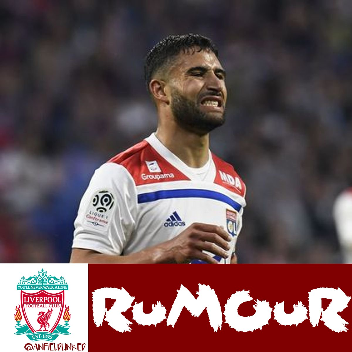 Transfer News RUMOUR: According to reports Nabil Fekir to Liverpool is almost done. Liverpool will pay a larger fee but spread it over a longer period of time, Suggestions that Fekir will cut short his holiday much like Shaqiri to get the deal over the line by next weekend #LFC<br>http://pic.twitter.com/G33XVxMk5V