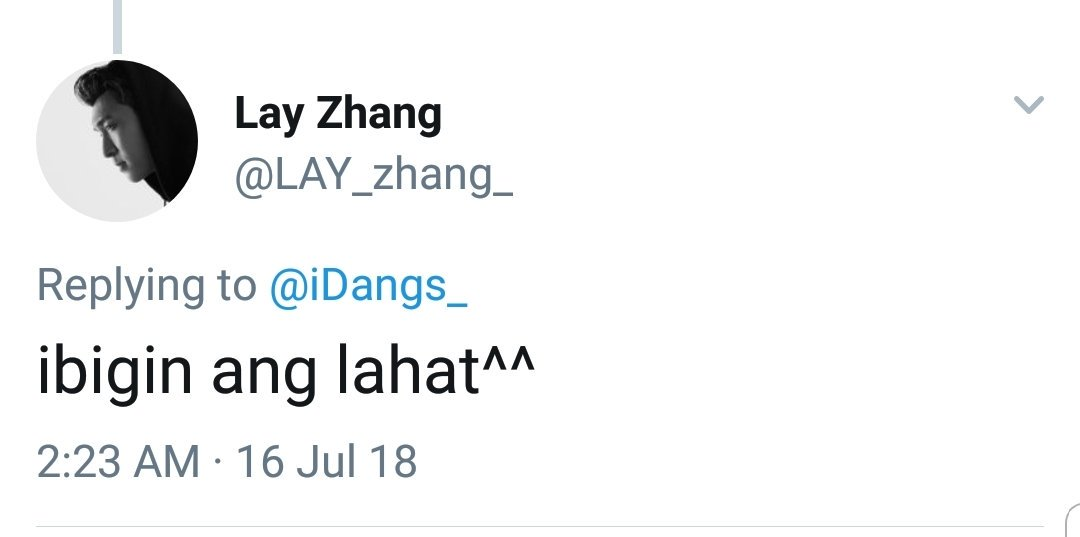 OHMYGOD! ZHANG YIXING REPLIED TO MY TWEET. IM LITERALLY SHAKING!! THIS IS THE BEST ADVANCED BIRTHDAY GIFT EVER!!!!<br>http://pic.twitter.com/nH7xBkKY8D