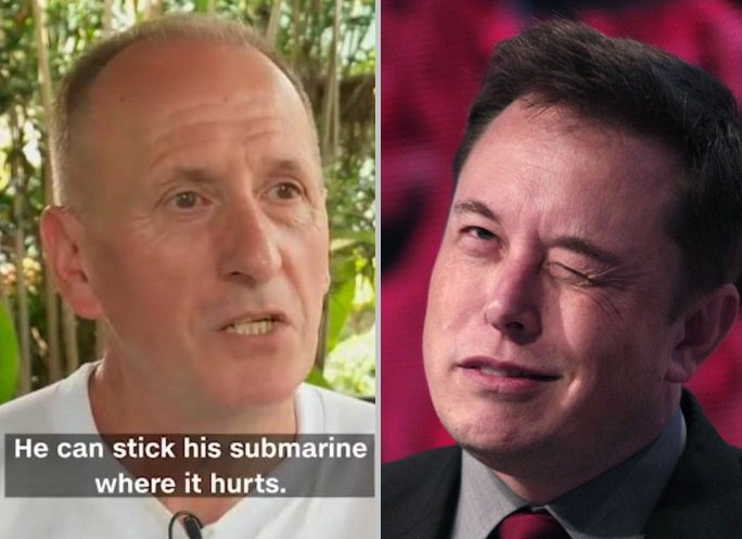 In Twitter Meltdown, Elon Musk Calls Thai Cave Diver A Pedophile https://t.co/oGX1F9Y6I7