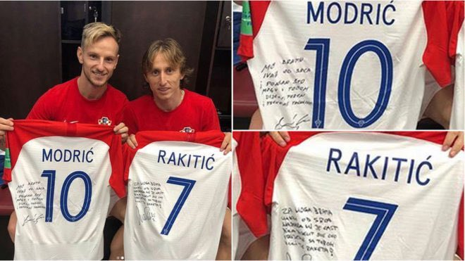 Actualité - Barça's photo on Modric