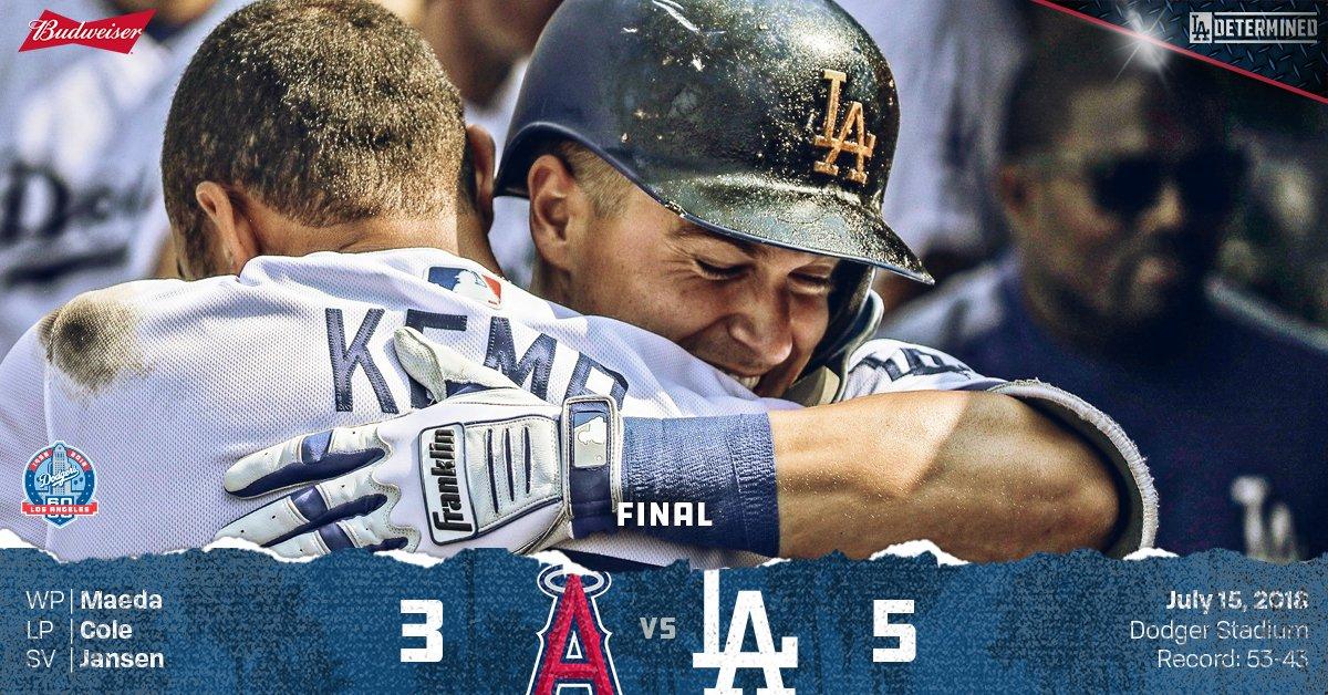 RECAP: @kikehndez steals the show in freeway series finale. #Dodgers  ��: https://t.co/6Xonau5m1g https://t.co/8B6z3n9Pe3