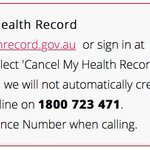 #MyHealthRecord Twitter Photo