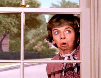 Comrade @realDonaldTrump:  Gladys Kravitz meddled.  The Ropers meddled.  Russia&#39;s attack on our 2016 election was an act of war.   It should be treated as such. #TraitorTrump #TreasonGate<br>http://pic.twitter.com/r5ShnjxSvH
