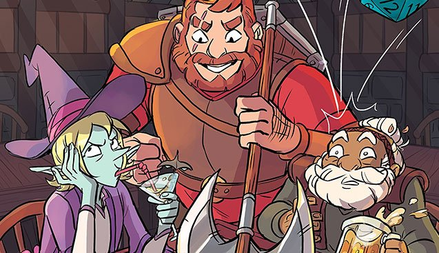 THE ADVENTURE ZONE: HERE THERE BE GERBLINS is the best podcast you&#39;ve ever read.   We review the @01FirstSecond graphic novel adaptation of @TheZoneCast, out Tuesday; the exclusive @BNBuzz edition features a variant cover &amp; poll-out poster.  http:// bit.ly/2zHTmtl  &nbsp;   #TheZoneCast<br>http://pic.twitter.com/YHAiIYJNmO