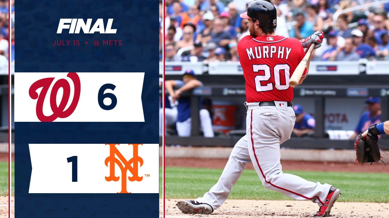 Murph delivers clutch two-run pinch-hit against the Mets.  RECAP // https://t.co/DqbJYucrtr https://t.co/cYM8BPzxul