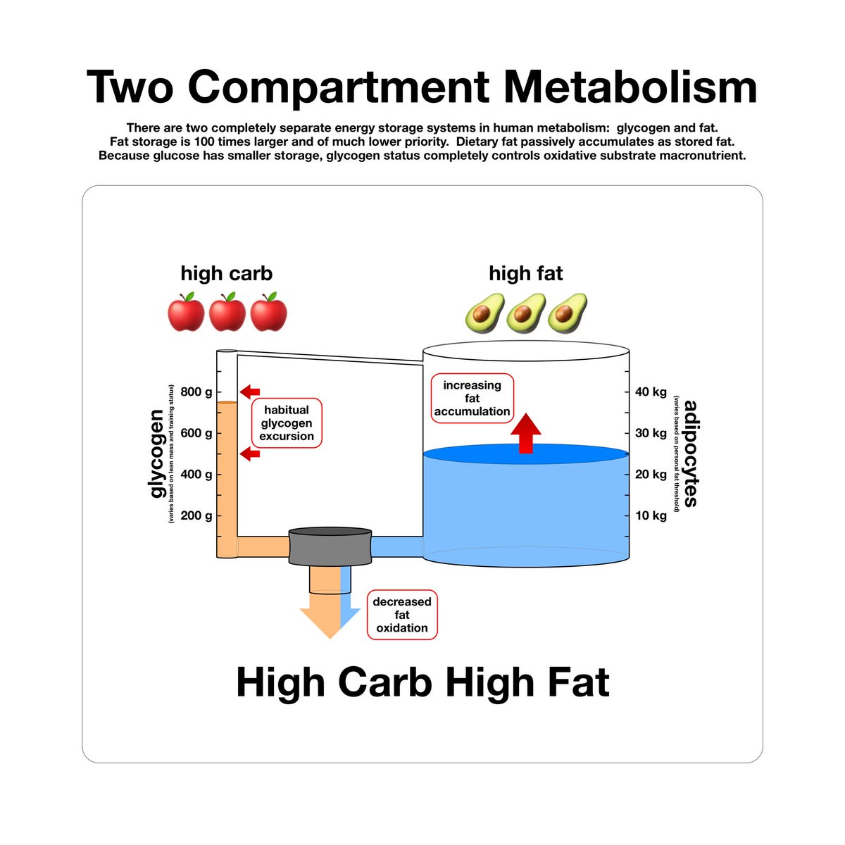 ...but whatever you do, avoid high carb AND high fat — this is the cause of obesity, insulin resistance, and type 2 diabetes! <br>http://pic.twitter.com/VNFIV5isLW