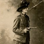 Remembering Constance Markievicz who died on this day in 1927. A founder member of Cumann na mBan. She became the first woman TD elected to the revolutionary all-Ireland Dáil. She was not a British MP. She did not take her seat at Westminster as Britain has no place in Ireland.
