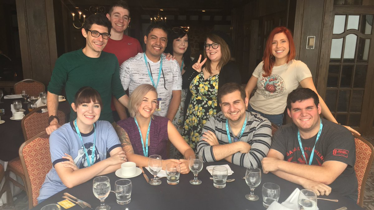 It's not often you get to meet so many awesome people!  Thank you all so much! @18moptop @HaybaleVoice @KaggyFilms @ImMrTransistor @MattShipmanVO @BrittanyLaudaVO @AboutElizabethM  @CheramiLeigh @marchimark @MargaretMcD_VA @KBeeThatsMe @FUNimation @DeltaHCon<br>http://pic.twitter.com/CUENaWoa4G