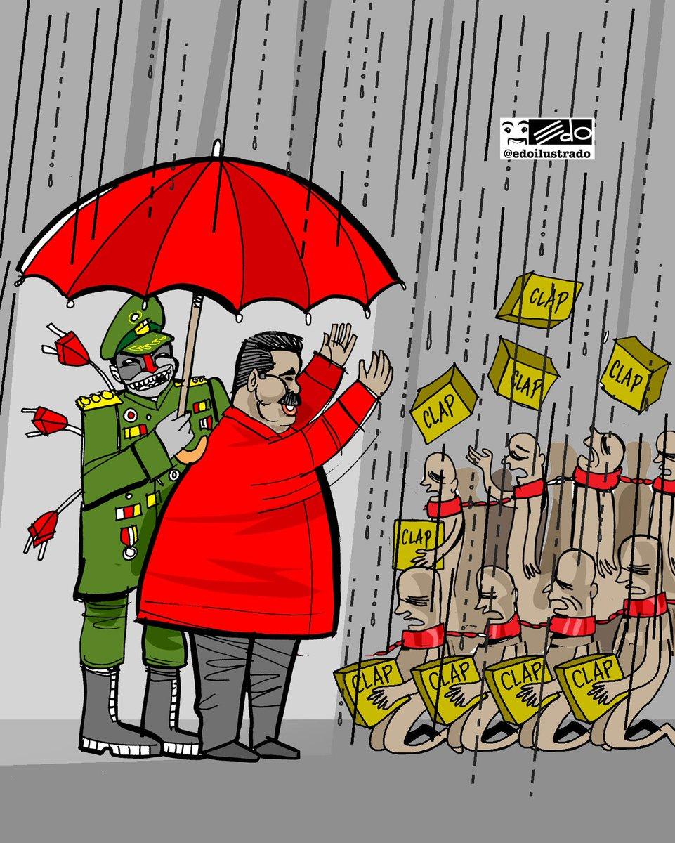 Nosotros también tenenmos nuestro Putin. Llueve y esperemos que más temprano que tarde, escampe.