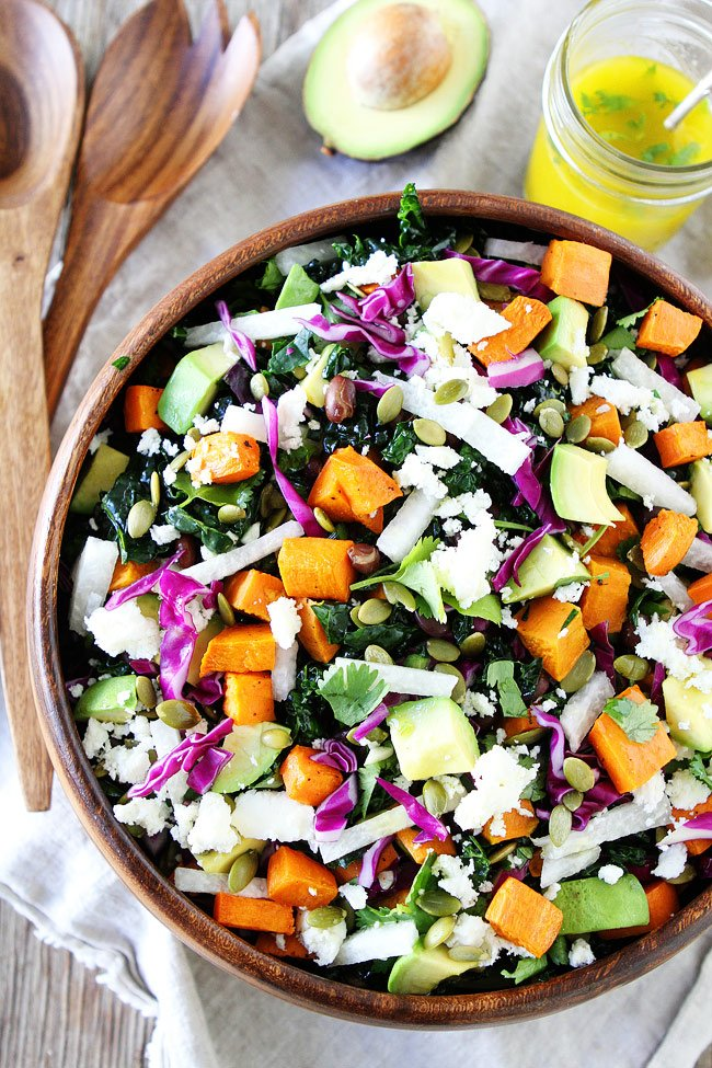 @recipesnosh: Please RT! #recipes #food #dessert Sweet Potato and Black Bean Kale Salad https://t.co/xFeJebZyxM https://t.co/jbkXCdRm09