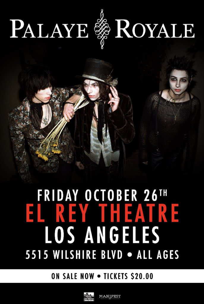 Los Angeles can't believe our show at El Rey is almost sold out. Get your tickets now!     https://t.co/8q8IIcDwS3