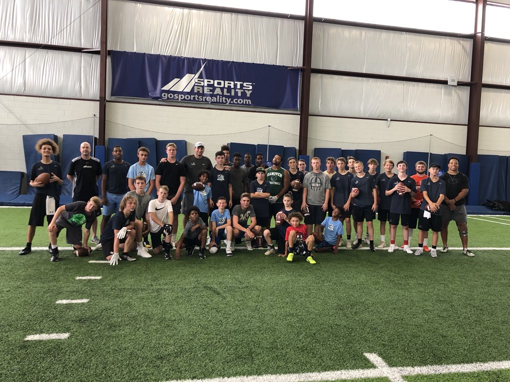 Great @DeBartoloSportU camp in VA. ALL 22 QBs got better and we got after it every step of the way! Hats off to coach Jeff and @SportsRealityVA for a great set up and help! Nebraska QBs you next!<br>http://pic.twitter.com/q8YecM4LRe