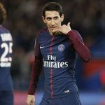 Image for the Tweet beginning: PSG : Angel Di Maria
