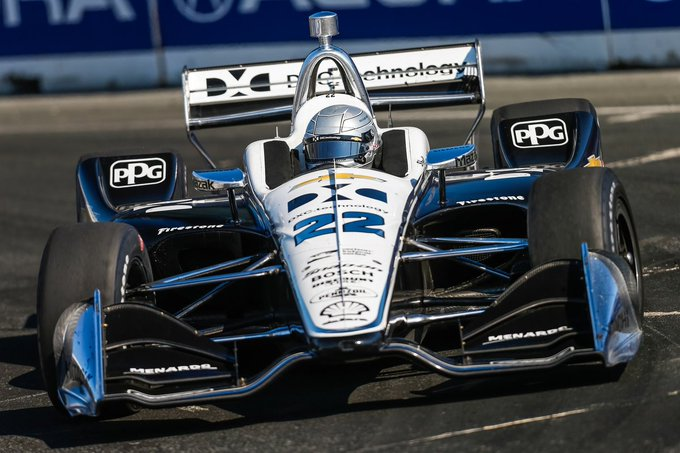Congratulations to @SimonPagenaud and @charliekimball for finishing P2 and P5 at the #IndyTO! Photo