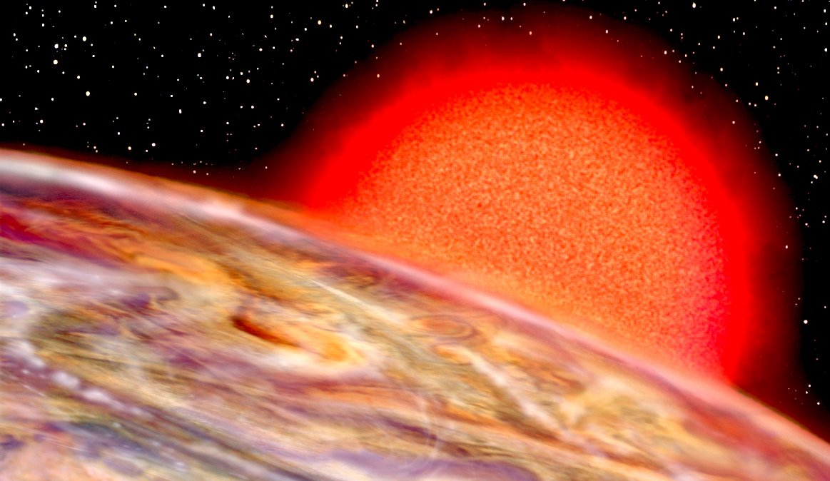 red giant star - 1163×674