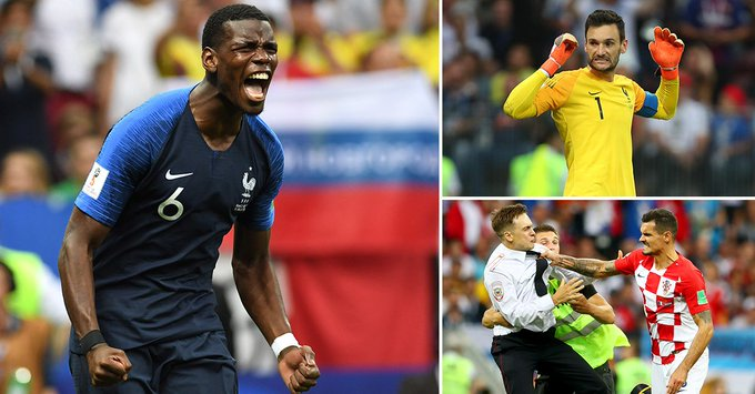 PLAYER RATINGS: Paul Pogba proves his critics wrong in the biggest game of his career as Dejan Lovren has a day to forget #WorldCup Photo