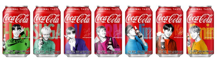 'Coca-Cola' to release a special package with BTS members  https://t.co/q8rhf7fvII