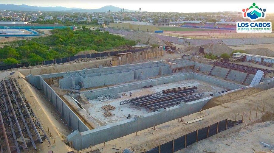 El nuevo balneario y alberca olímpica para #LosCabos enconstrucción https://t.co/FMthwxbIuC https://t.co/kcD9n6jIOJ