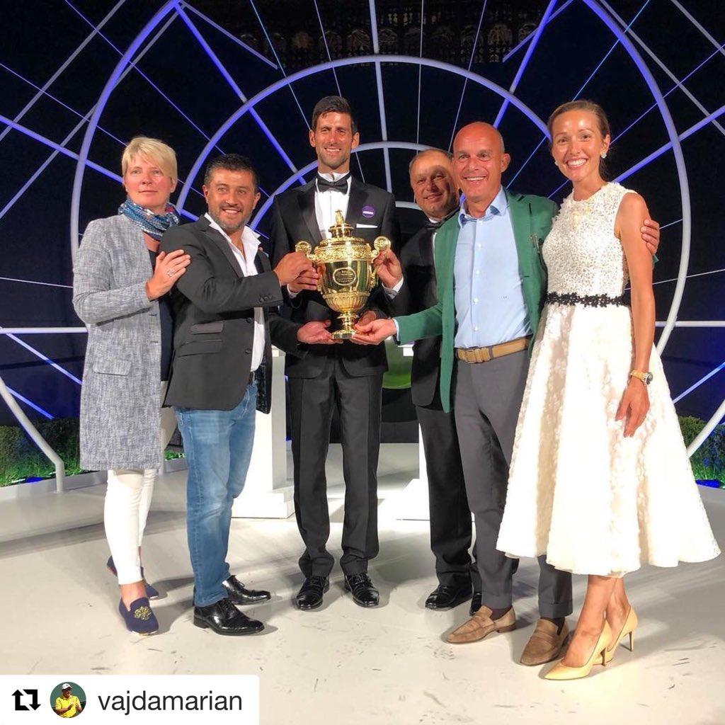 NovakDjokovicFanClub's photo on #Wimbledon