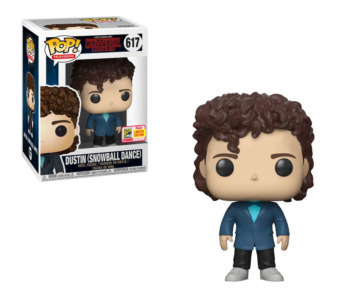 RT &amp; follow @OriginalFunko for a chance to WIN a #SDCC 2018 exclusive Stranger Things Dustin (Snowball Dance) Pop! #StrangerThings <br>http://pic.twitter.com/Q7DctHarBm