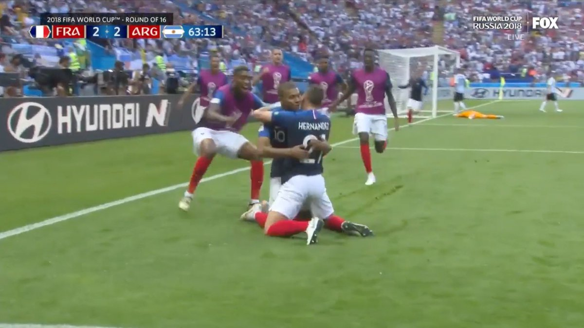 Mbappé was awarded the Best Young Player of the tournament for his silky smooth moves, clutch goals and more.