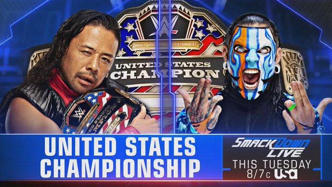 Combate por título anunciado para o próximo SmackDown Live *SPOILER*
