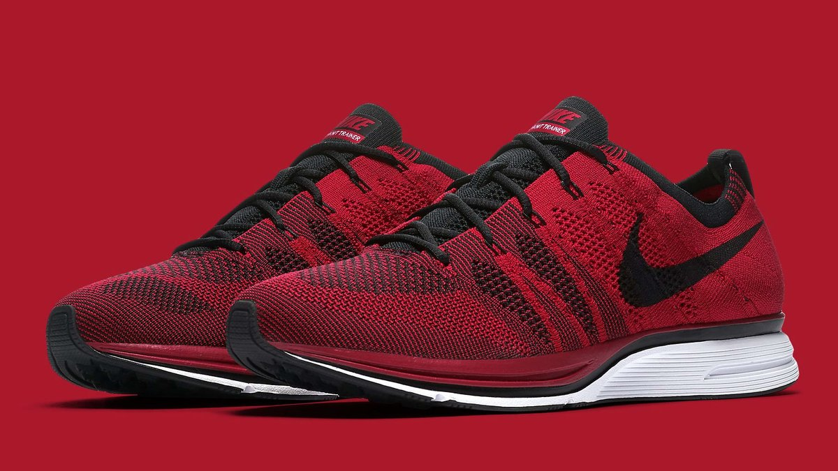 The once rare 'University Red' Nike Flyknit Trainer is coming back with a wider release. https://t.co/ND8wqiJCqr