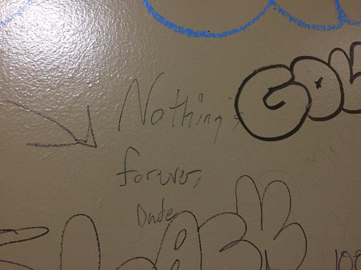 Found my favorite graffiti of tour so far