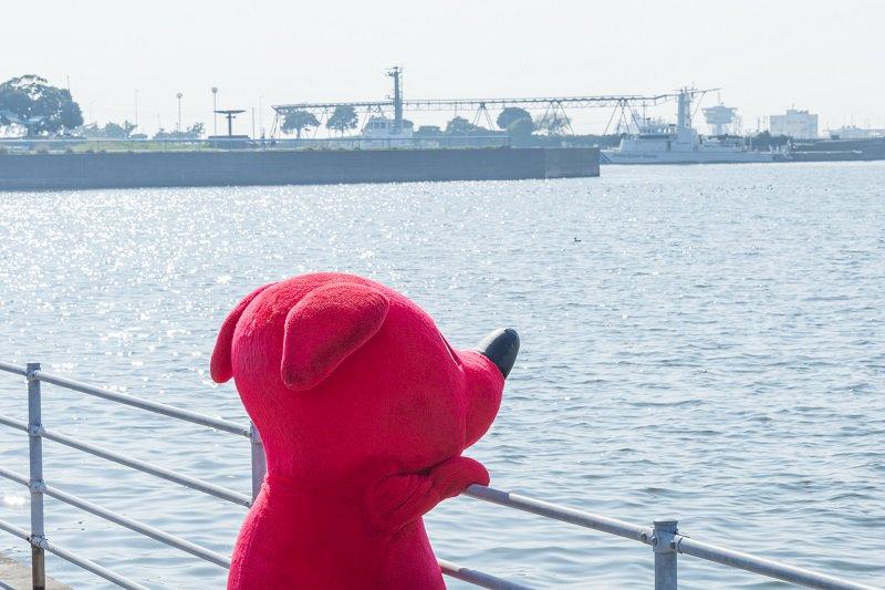 チーバくんと海デートなうに使っていいよ♡…って。。。ちょっと古い? (´・ω・`)