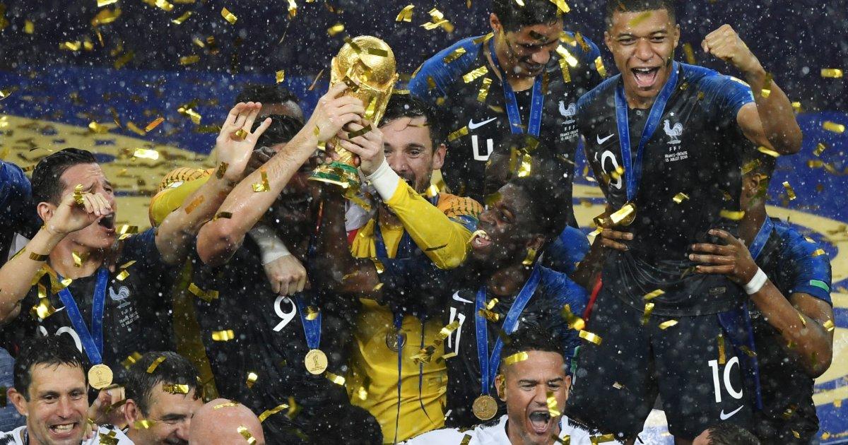 Coupe du monde: les partisans des Bleus savourent leur victoire https://t.co/aKldXPpbom