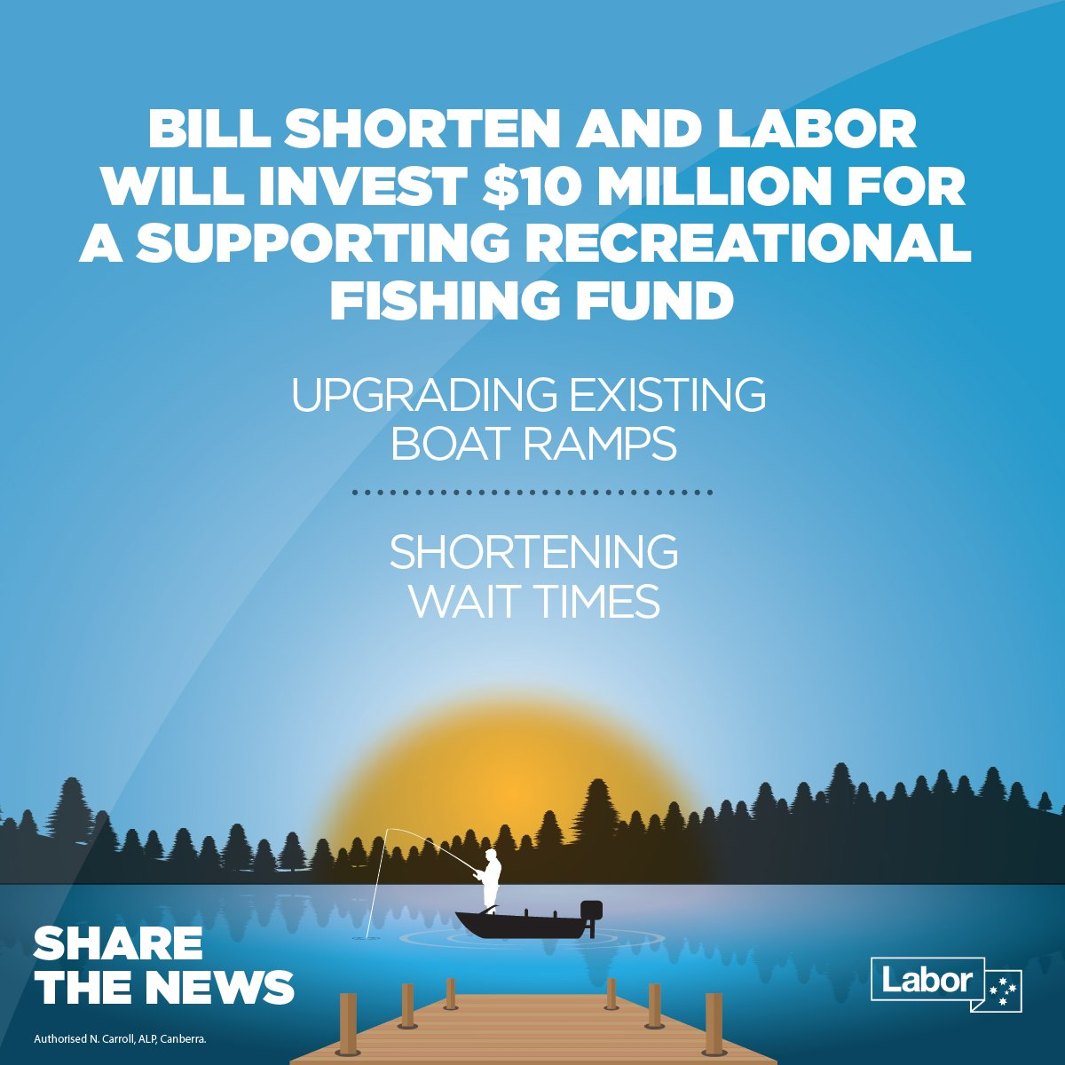 Great news for the millions of Australians who go fishing every year.