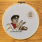 Image for the Tweet beginning: Mainstream society: Needle crafts are
