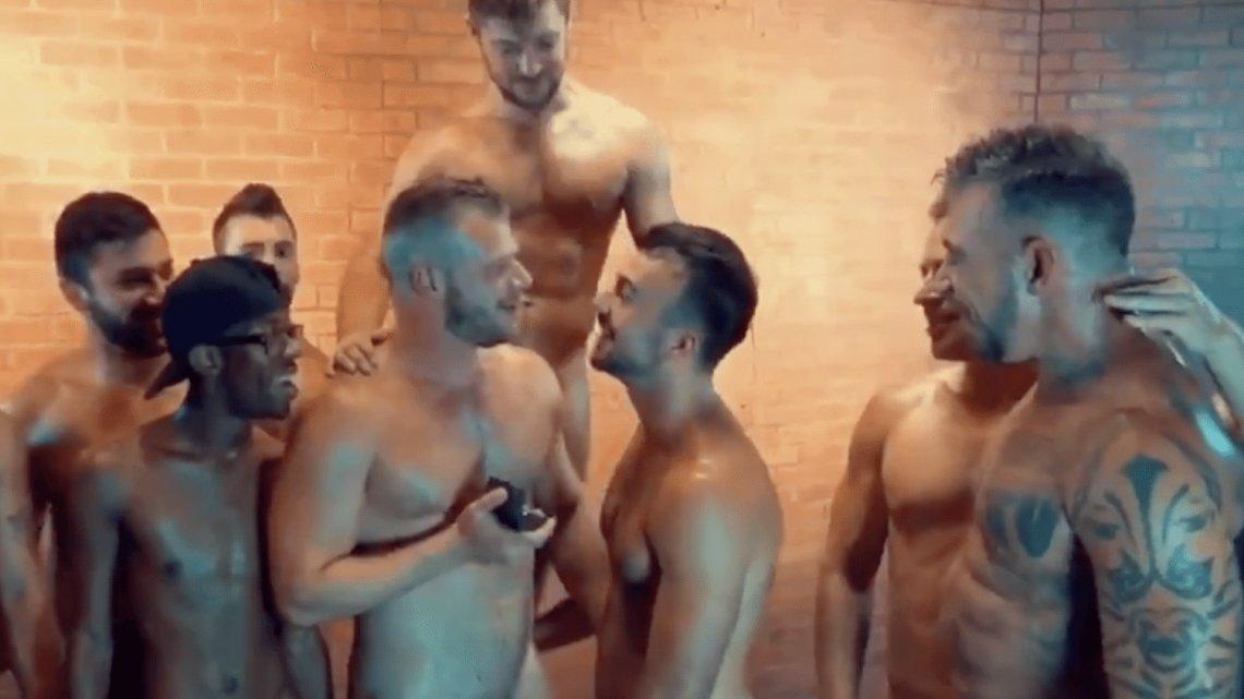 noir adolescent Gangbang im un homme marié gay sexe