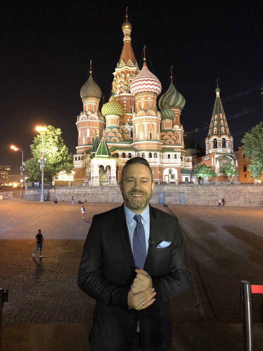 Misión cumplida, mejor dicho sueño cumplido, así terminamos nuestra cobertura de 40 días del mundial en Rusia 2018 por @directvsports infinitamente agradecido con todos las personas que lo hicieron posible y muy orgulloso de pertenecer a este equipo GRACIAS! #ElMundialEnDIRECTV