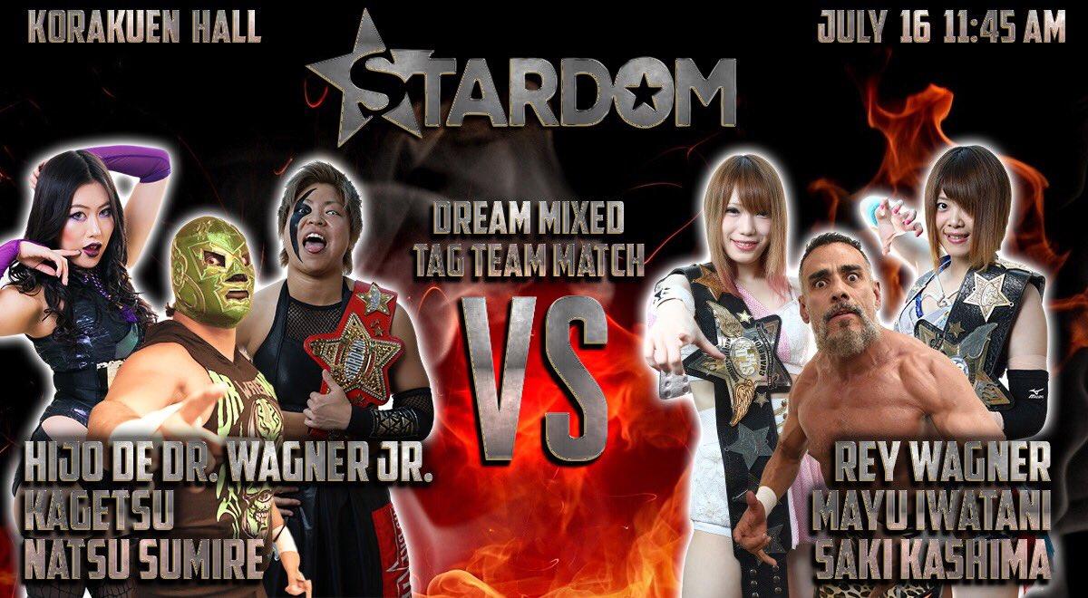 """Stardom:""""Bright Summer"""" 3 Títulos en juego; Dr. Wagner invitado 2"""