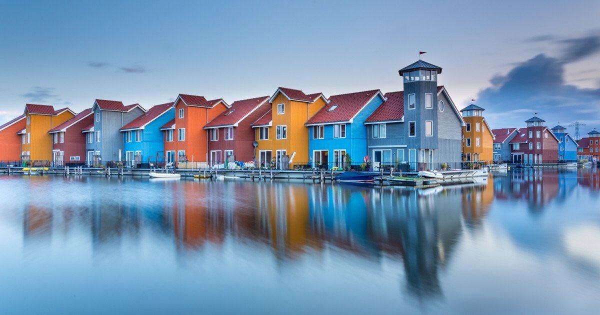 Createstreets On Twitter New Fishermans Houses In Groningen