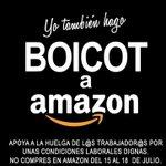 #AmazonEnLucha Twitter Photo