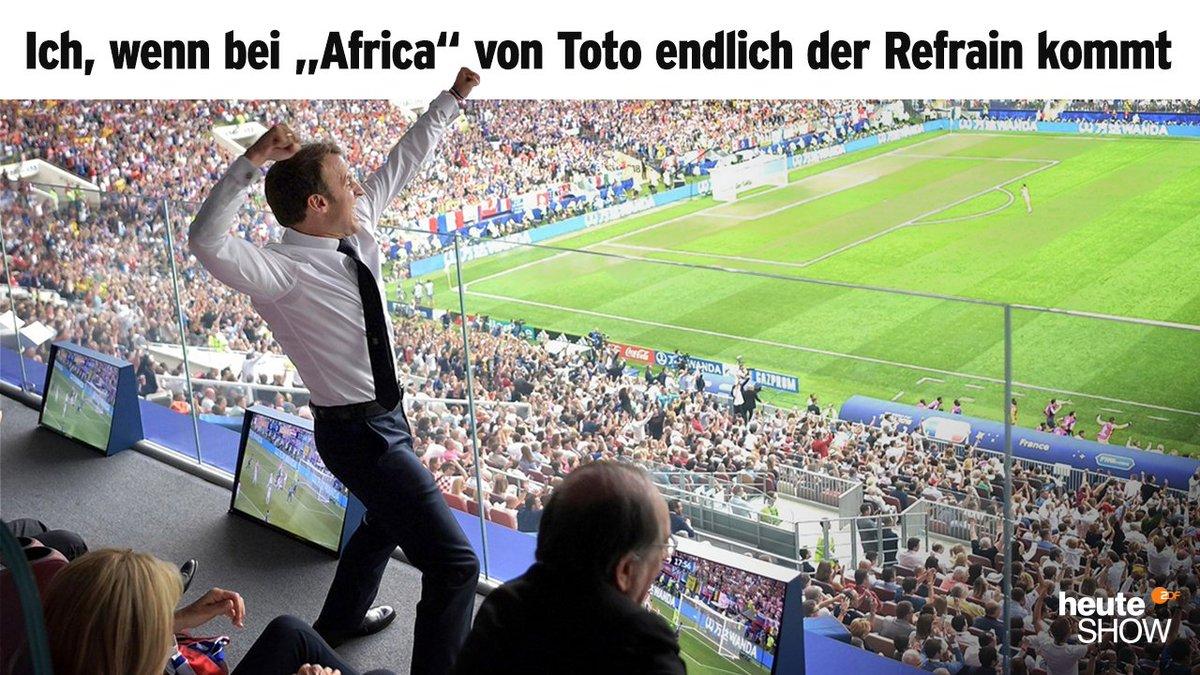 ZDF heute-show's photo on #WMFinale