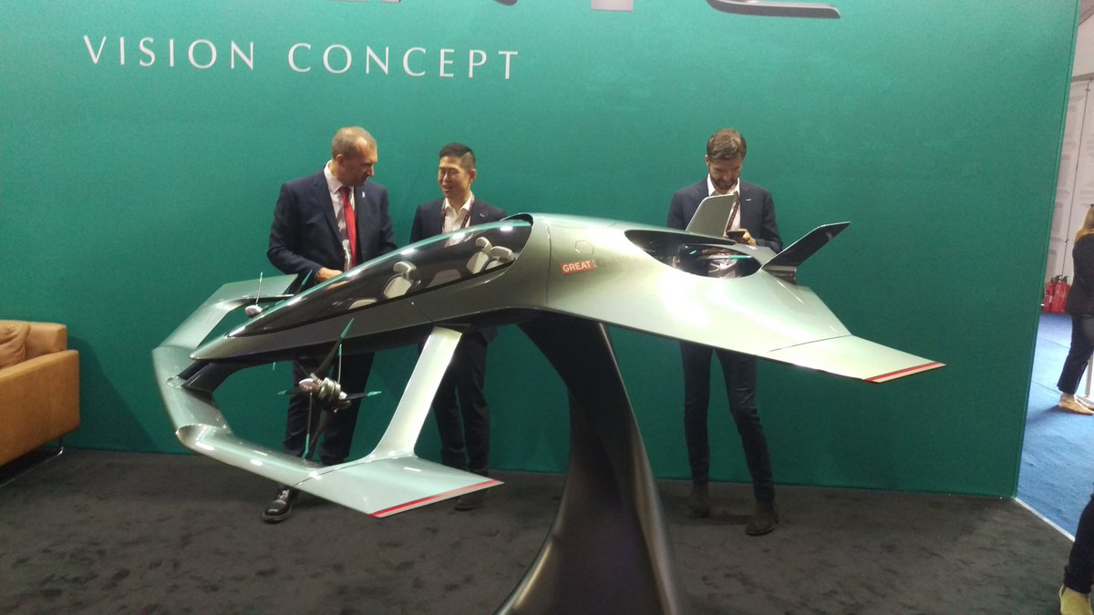 Tim Robinson On Twitter Wow Evtol Flying Car Concept From Aston