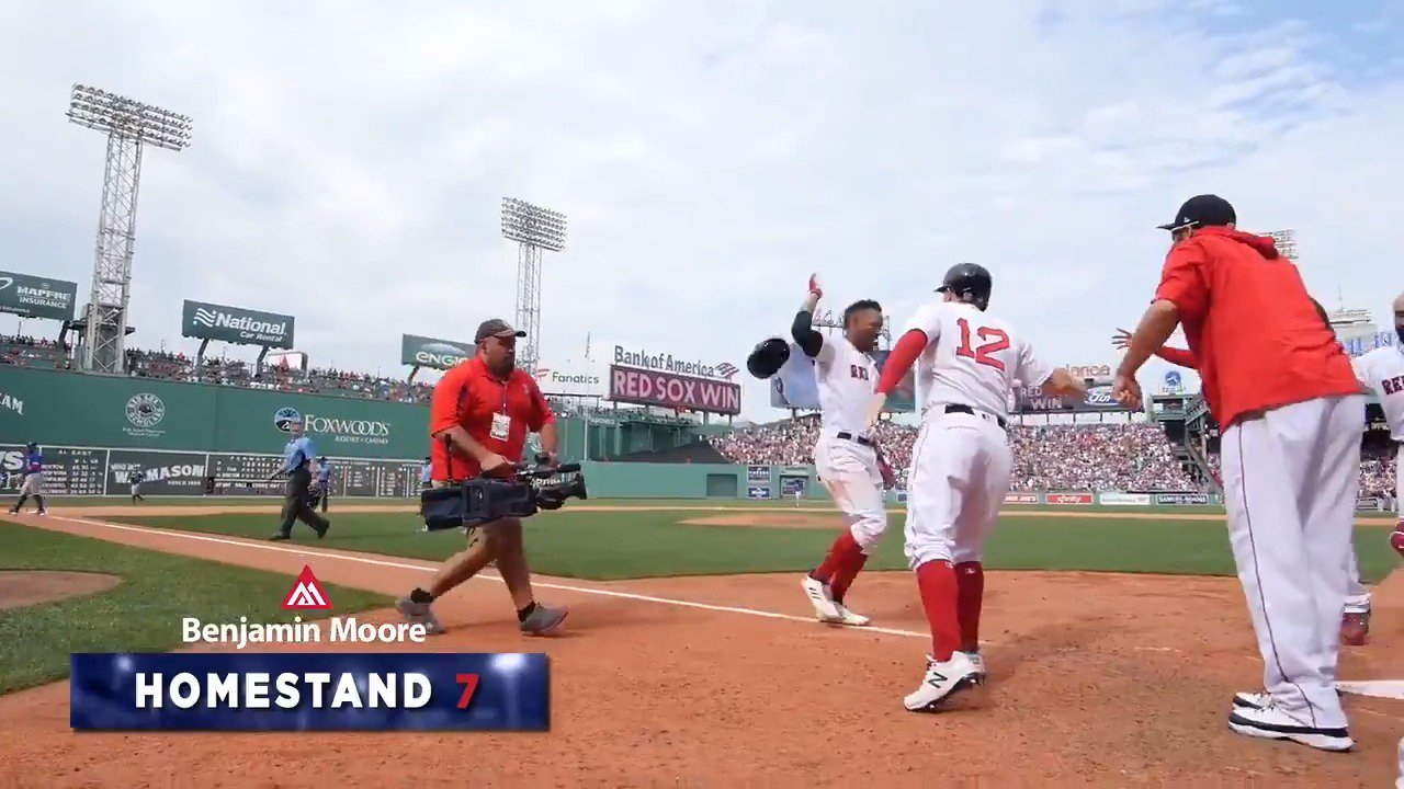 This is a homestand you're going to want to relive!   Homestand Highlights presented by @Benjamin_Moore: https://t.co/bXdE2gQVcR