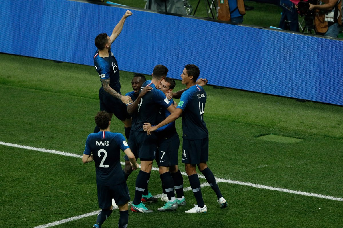 REPORT: Kylian Mbappe was the star of the show as #FRA clinched the World Cup for just the second time with a win over #CRO. 💫  📲 https://t.co/RoyZD3QyKa