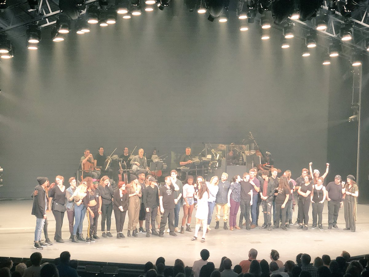 Well that was the best closing night in the history of theatre #JaggedLittleClosing #JaggedLittlePillART
