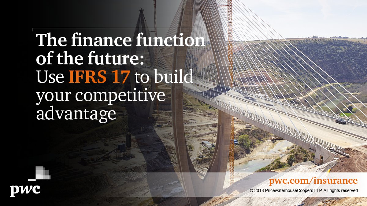 #IFRS17 could prove to be the key determinant of competitive differentiation! Use IFRS 17 to improve your competitive advantage #insurance Read PwC's view - http://pwc.to/2NFjrfv