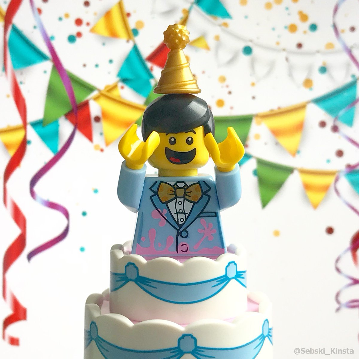Birthday Surprise Lego Minifigures Cake For More Of My Photos Tco GfPD67kqyJ FHACQerwHf