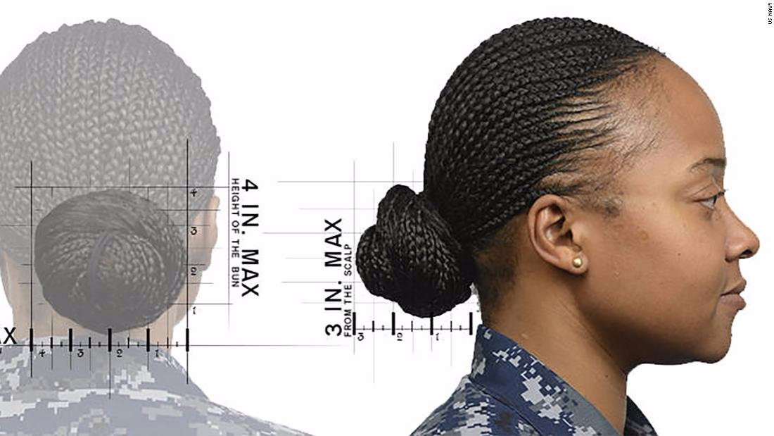 Terrific Cnn On Twitter The Us Navy Has Expanded Its Hair Rules For Schematic Wiring Diagrams Phreekkolirunnerswayorg