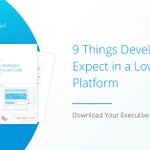 Download this brief to learn about the 9 items your developers want in order for them to adopt a platform that enables them to start working with the business to create great software.  https://t.co/RonVX6KU2T #appdev #developer