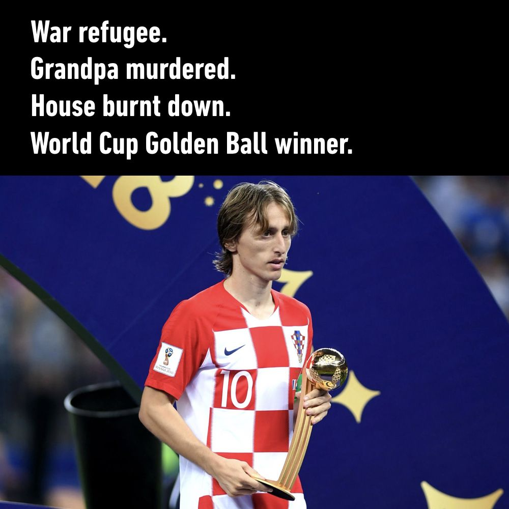9GAG's photo on Modric