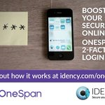 Image for the Tweet beginning: Idency partner with OneSpan: rock-solid