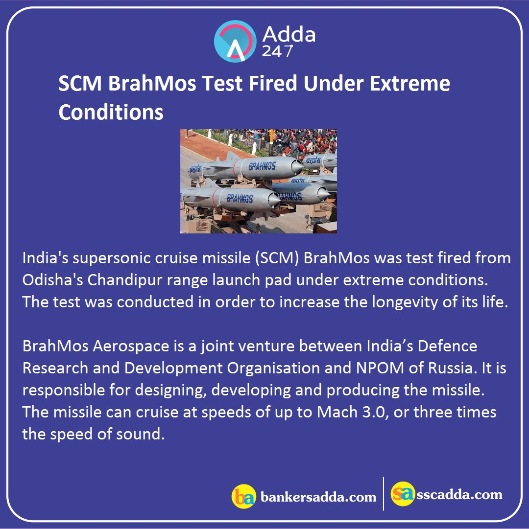 #Brahmos Latest News Trends Updates Images - adda247live