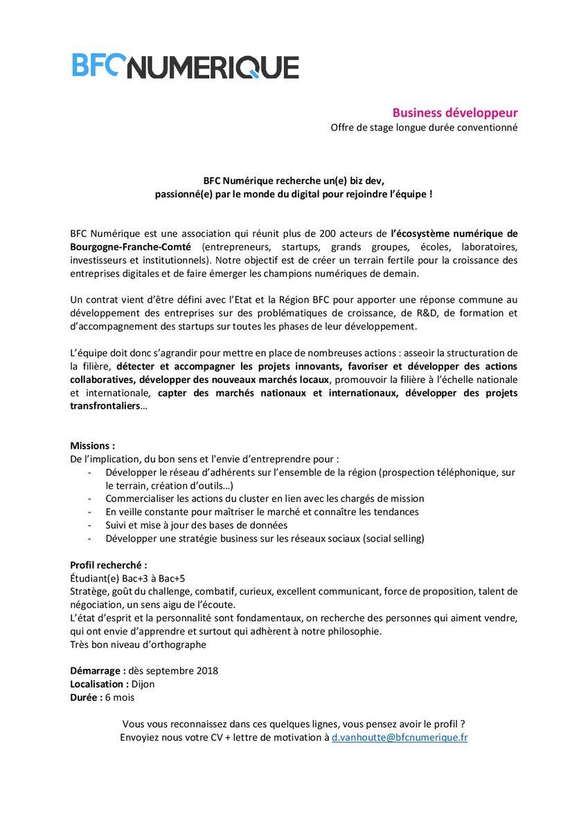 Bfc Numérique Twitterissä Recrutement Bfcnum